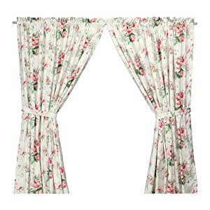 ikea emmie rideaux avec embrasse 1 paire multicolore 145x300 cm cuisine maison. Black Bedroom Furniture Sets. Home Design Ideas