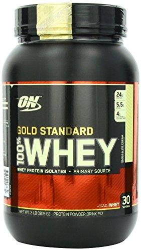 Gold Standard ON Optimum Nutrition 100% Whey Best Protein (Vanilla Ice Cream,...