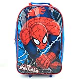 Best Spider-Man Book Bags For Boys - Children's TV Character Kids Boys Girls Wheeled Cabin Review