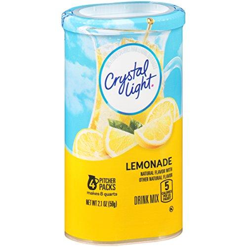 Crystal Light Soft Drink Mix Natural Lemonade