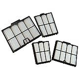 Kit 4 filtri a cartuccia 30 micron / set pareti per filtro Dolphin S100 - E20 - E25