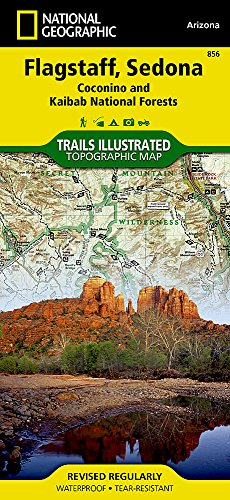 Flagstaff / Sedona - Coconino National Forest: NATIONAL GEOGRAPHIC Trails Illustrated National Parks (National Geographic Trails Illustrated Map, Band 856)