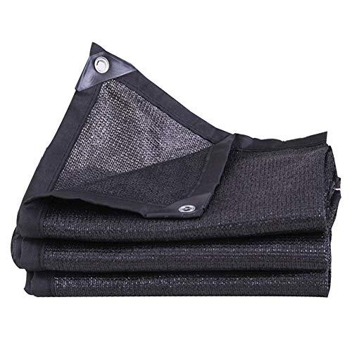 Ljdgr GRW-Plane Sonnenschutznetz Sonnenschutz Polyethylen Endotherm Anti-UV Durable Outdoor, 23 Größen (Farbe: SCHWARZ, Größe: 3x6M) Garten liefert (Color : Black, Size : 4x10m) (10 X 10 X 6 Hundehütte)