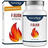 GloryFeel F-BURN Cápsulas quemagrasas - Té verde más café verde y...