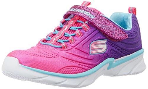 Skechers Swirly Girl-Shine Vibe, Baskets Basses Fille, Rose
