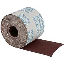 Sharplace 10m Abrasivo Panno Rullo 80 Grit Per Metallo Vernice Plastica Porcellana PVC Acciaio Pietra Legno