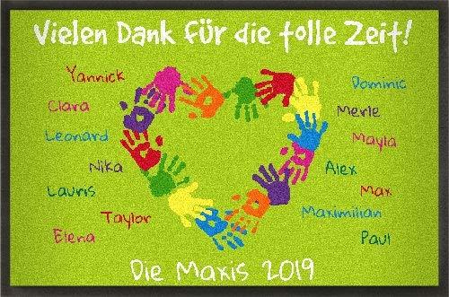 mymat Gestaltbare Fußmatte Kindergartenabschied