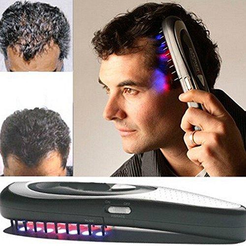 BeonJFx - Peine eléctrico para regeneración de la pérdida de cabello con tratamiento láser que promueve la parada del crecimiento