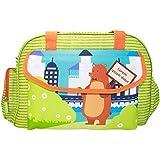 Rachna's Lorem Ipsum Dolor Bear Matte Fabric Multi-Purpose Travel Organizer Water Repellent Baby Diaper Bag - 1701 - Green