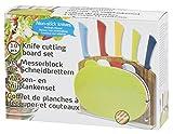Kitchen Elegance 53432 Messer set und Schneidebrett 10 Stücke