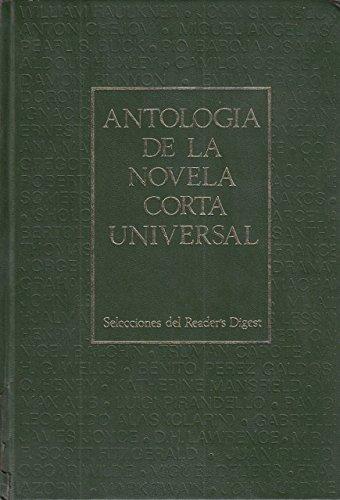 ANTOLOGÍA DE LA NOVELA CORTA UNIVERSAL. 3 VOLÚMENES