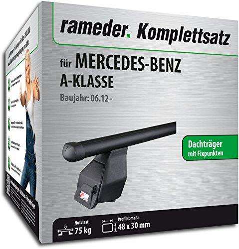 Rameder Komplettsatz, Dachträger Tema für Mercedes-Benz A-KLASSE (118876-10342-2)