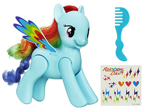und Wirbel Rainbow Dash Figur (My Little Pony-tabelle)