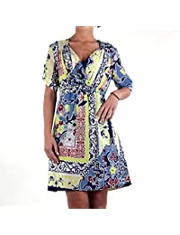 REPLAY Damen Sommer Kleid Colored Blue W9685.00