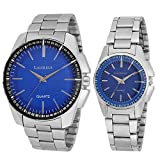 Laurels Analogue Blue Dial Men'S And Wom...