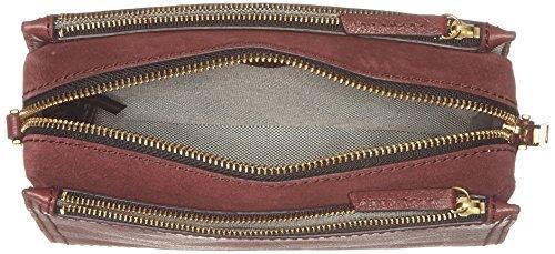 Fossil - Damen Tasche Campbell - Crossbody, Borse a tracolla Donna Rosso (Cabernet)