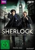DVD Cover 'Sherlock - Eine Legende kehrt zurück! Staffel eins [2 DVDs]