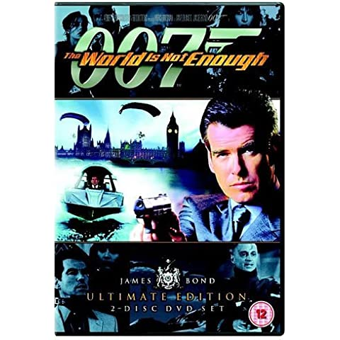 James Bond - The World Is Not Enough (Ultimate Edition 2 Disc Set) [DVD] [1999] by Pierce Brosnan