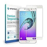 smartect Panzerglas kompatibel mit Samsung Galaxy A3 2016 [Full Screen] - Displayschutz mit 9H Härte - Panzerglas bedeckt Ganzes Display komplett Full Cover