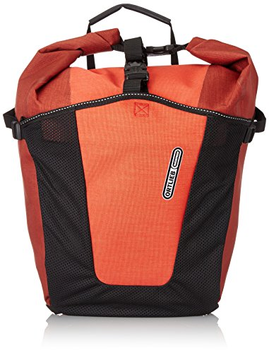 Ortlieb Gepäckträgertasche Back-Roller Pro Plus Paar Satteltasche, Red/Black, One Size