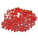 Beadsnfashion Seed Bugles Beads Pink Rai...