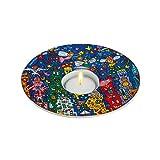 Goebel Porzellan-Teelichthalter Artis Orbis James Rizzi Joy to the World, 26100925