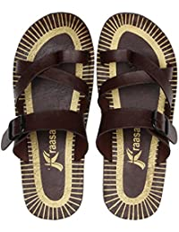 a57dbeab45fc Kraasa Men s Flip-Flops   Slippers Online  Buy Kraasa Men s Flip ...