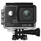 SJCAM SJ5000X Elite WiFi Action Camera, 4k@24FPS Underwater Video Camera- Gyro Stabilization/2' Large LCD Screen/Sony Sensor, 30M Waterproof with Case (Included)- Black