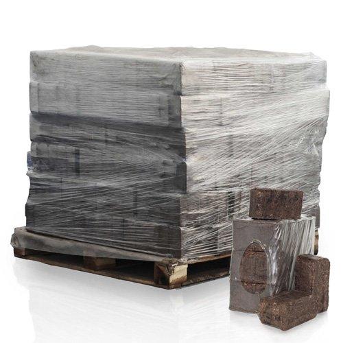 PALIGO RUF Rindenbriketts Gluthalter Dauerbrenner Kamin Ofen Brenn Holz Heiz Brikett 8kg x 98 Gebinde 784kg / 1 Palette HEIZFUXX®