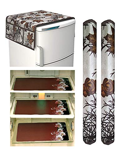 Factcore Designer Refrigerator Printed Standard