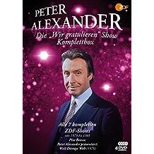 Die Peter Alexander 'Wir gratulieren' Show - Komplettbox (Alle 7 ZDF-Shows plus Disneys Welt) - Fernsehjuwelen