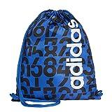 adidas GS AOP DAILY - Zaini Uomo, Blu (Azul/Negro/Blanco), 24x15x45 cm (W x H L)