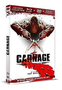 Carnage (Combo DVD + Blu-ray) [Combo Collector Blu-ray + DVD]
