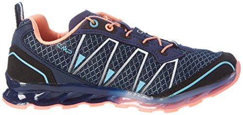 C.P.M. Atlas, Chaussures de Trail Mixte Adulte Bleu (B.blue-cristal-peach Fluo)