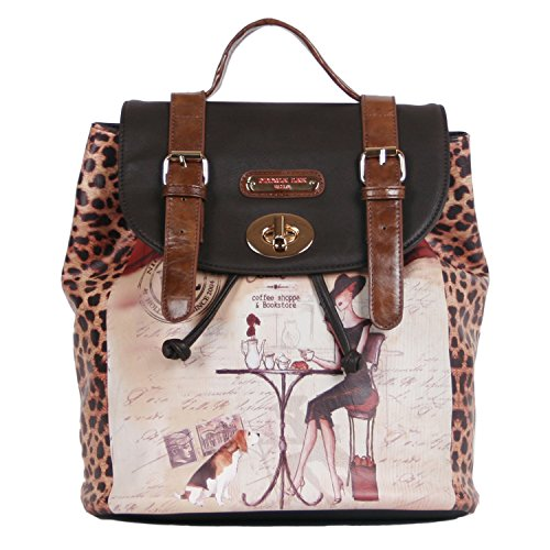 nicole-lee-backpack-coffee-one-size