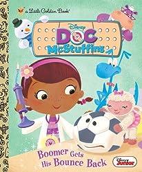 Boomer Gets His Bounce Back (Disney Junior: Doc McStuffins) (Little Golden Book) by Posner-Sanchez, Andrea (2013) Hardcover