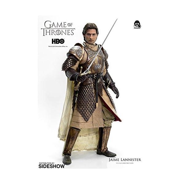 Figura de colección Three Zero Game of Thrones: Jaime Lannister (1/6) 9