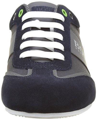 Boss Green Lighter_Lowp_CVC 10197554 01, Sneakers Basses Homme Bleu (Dark Blue 401)