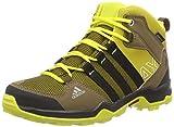 adidas AX2 Mid CP, Unisex-Kinder Outdoor Fitnessschuhe, Mehrfarbig (Raw Ochre F15/Core Black/Bright Yellow), 36 2/3 EU