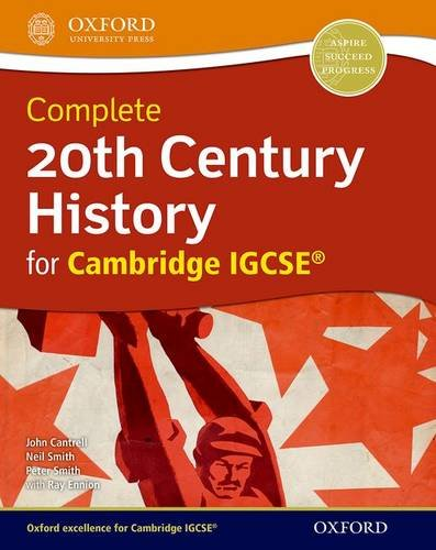 20th century history for Cambridge IGCSE. Student's book. Con espansione online. Per le Scuole superiori (Complete Series Igcse)