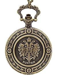 7 : New Fashion IC XC NI KA Badge Quartz Pocket Watch Designer Watches Men Watch Women Analog Pendant Necklace...