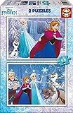 Educa 16852 - 2X48 Frozen, Spiele und Puzzle