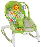 #6: Magicwand Newborn To Toddler Portable Baby Rocker (Green)