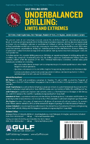 Underbalanced Drilling: Limits and Extremes (Gulf Drilling)