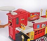 Dickie Toys 203099623 - Feuerwehrmann Sam Fire Rescue Centre, Rettungsstation, 48 x 26 x 23 cm Test