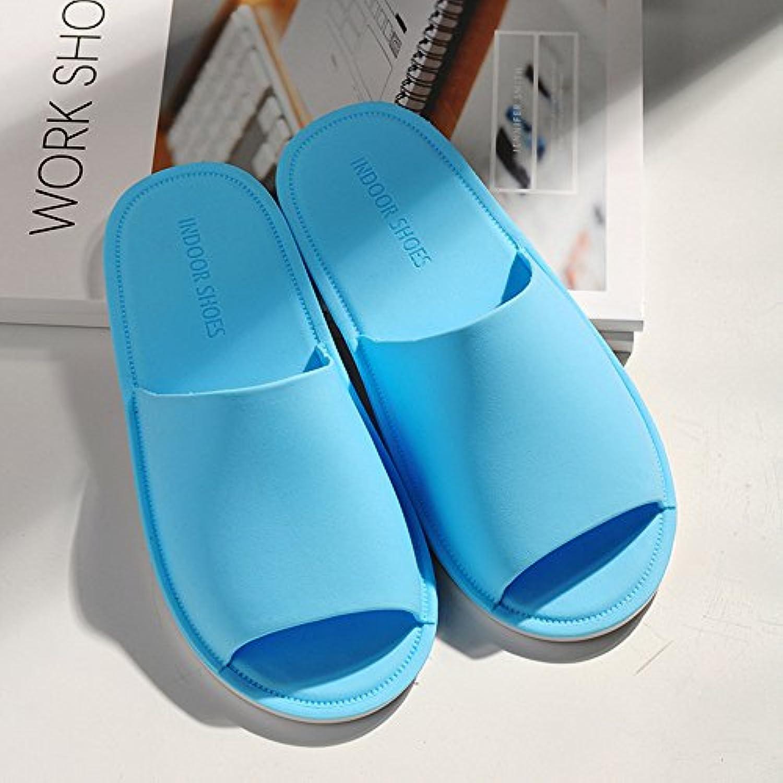 Zapatillas de interior zapatillas femeninas de verano interior antideslizante ducha de fondo suave viajar casa...