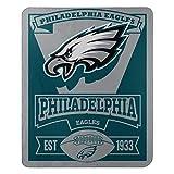 Northwest NFL Dallas Cowboys, Bedruckte Fleece-Decke, Jungen Damen Mädchen Unisex Herren, 1NFL/03102/0011/AMZ, Philadelphia Eagles, 50