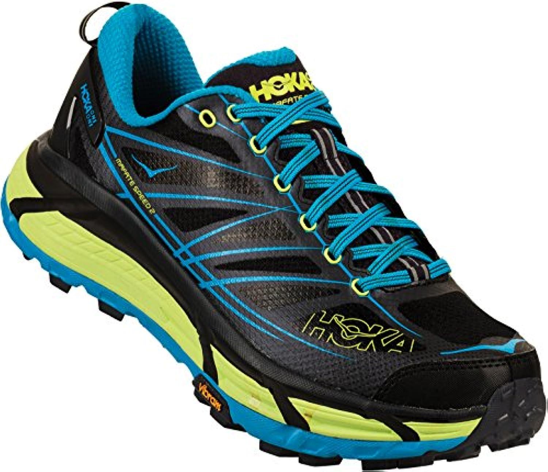 Hoka One One Mafate Speed 2 Running Shoes Men Nine Iron/Black 2018 Laufsport Schuhe