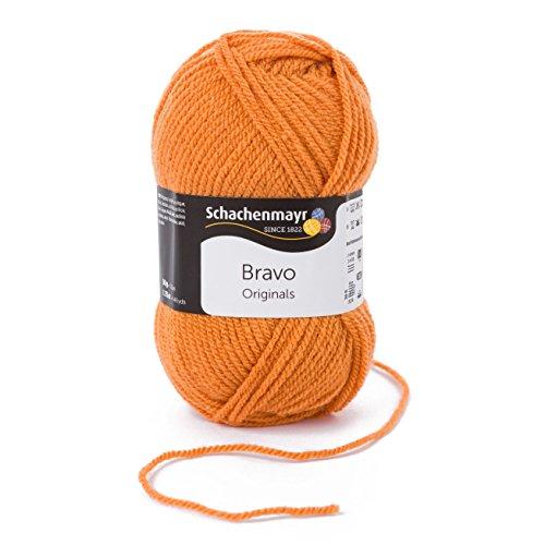 Schachenmayr Bravo 9801211-08360 bernstein Handstrickgarn, Häkelgarn