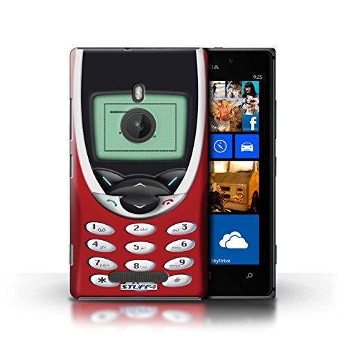 iCHOOSE Print Motif Coque de protection Case / Plastique manchon de telephone Coque pour iPhone 6+/Plus 5.5' / Retro Phones Collection / Dark Blue Nokia 8210 Nokia 8210 rouge